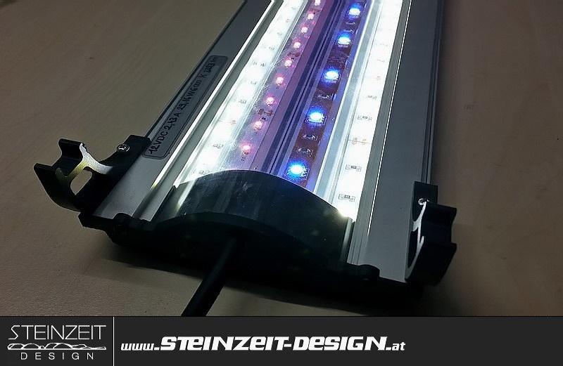 Steinzeit Design | LED Aquarium Beleuchtung BARRACUDAS LDX4