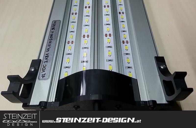 Steinzeit Design | LED Aquarium Beleuchtung BARRACUDAS LD4