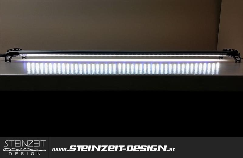 Steinzeit Design Led Aquarium Beleuchtung Barracudas Ld2 2x Weiss