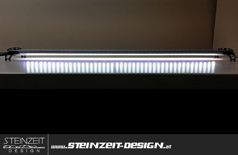 Barracudas Steinzeit Ldx4 Beleuchtung DesignLed 2xweiß Aquarium CoBdxre