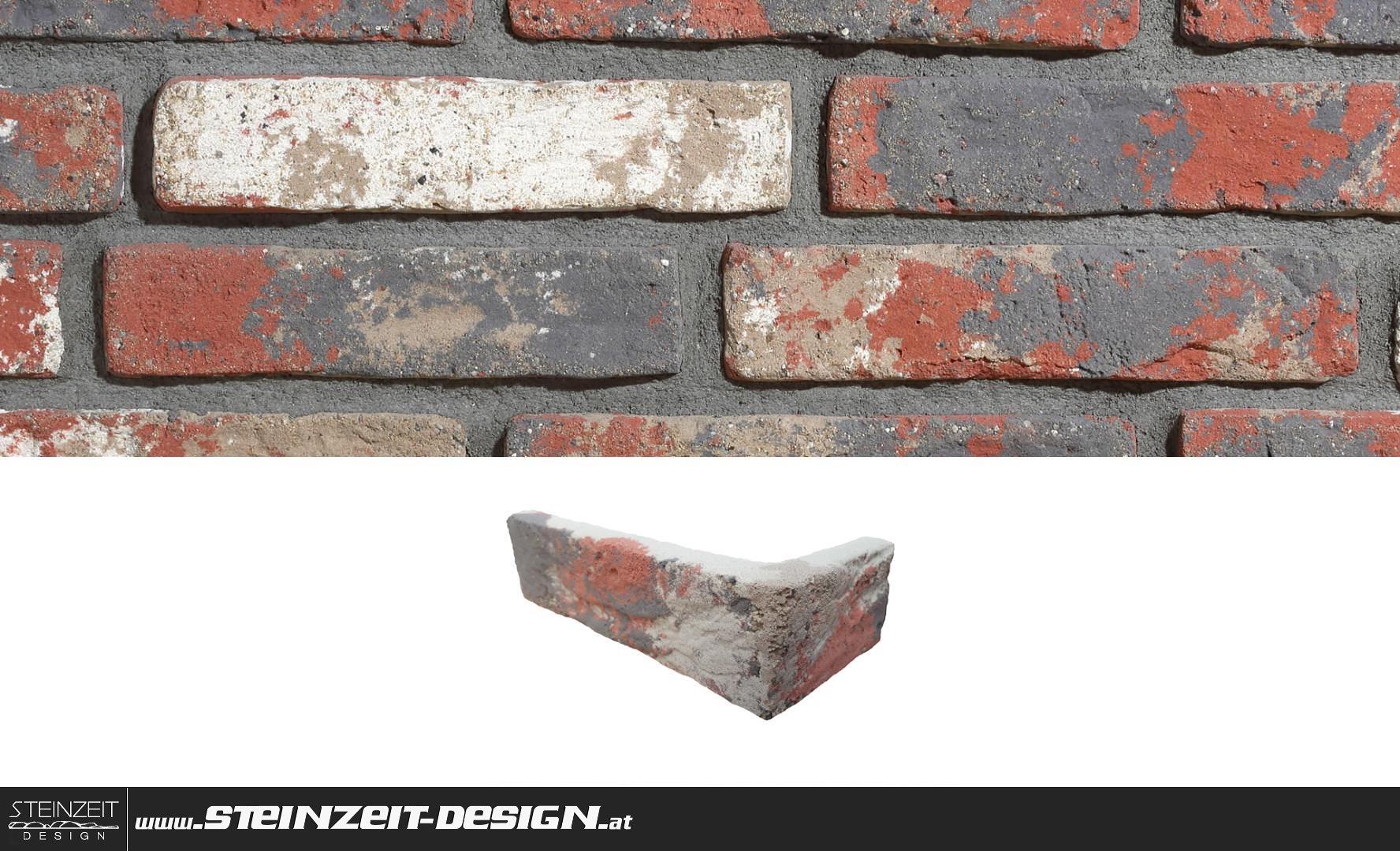 Steinzeit Design   Ziegel-Riemchen Cambridge 7