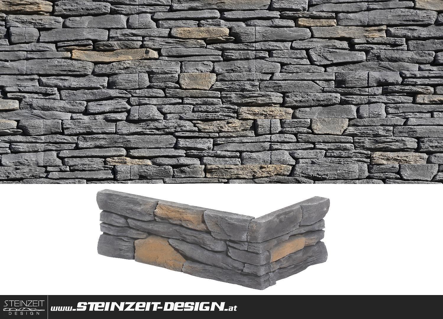 Steinzeit Design   Verblendstein STONES Porto 2